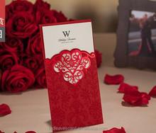 IC1402-16 laser cut cards for wedding invitation