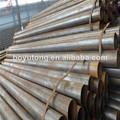 black erw tubos de aço de peso dimensões