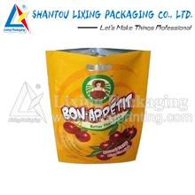LIXING PACKAGING hanging retail mesh fruit packaging cherry bags
