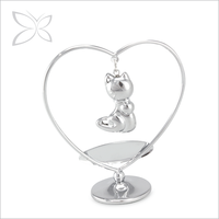 Premium Fancy Chrome Plated Crystal Wedding Gifts For Guests