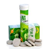 Natural Apple Vinegar tablets/GMP Factory Supply 100% Chinese Organic Apple Cider Vinegar