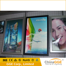LED edge lit sign base/light box with snap frame