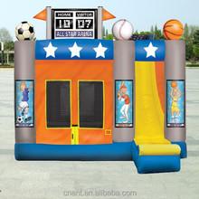 combo bouncer slide for family use