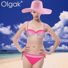 Olgak2015 Fashion Swimsuit Sexy Bikini For Mature Woman Lift The Hips