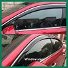 Weather visors /rain visors/sun visors for cars