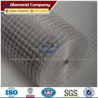 High Quality Galvanized or PVC coated Welded Wire Mesh Rolls for sale