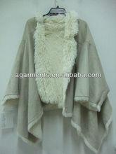 damas de invierno de piel de imitación elegante chal