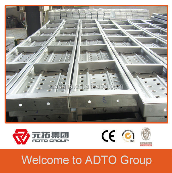 Construction Walk Boards : High quality scaffolding parts metal walk board for