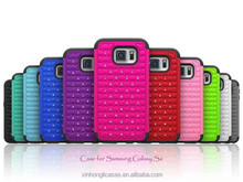 Wholesale Hybrid ABS PC TPU Diamond Bling Cases For Samsung Galaxy S6