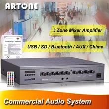 Amplificador de audio profesional para Multimedia Aula PMS-3180
