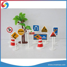 PS2309688 Educational plastic play set road signs toy