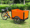 """Holland bakfiets adult 3 wheel pedal tricycle 26"""" for sale"""