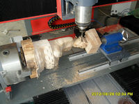 Multi Spindles Multi Heads 3D CNC Router/CNC Router 4 axis/Automatic Wood Carving Machine