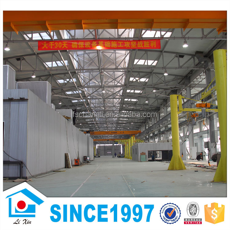 Low cost factory design prefabricated power8 workshop steel structure buildin - Power8 workshop price ...