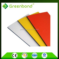 Greenbond modern exterior metal wall cladding building for foil covering decoration