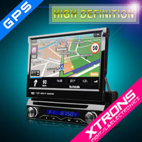 """7"""" Single Din Car Audio stereo Car DVD Player with GPS touch screen windows CE operation system"""