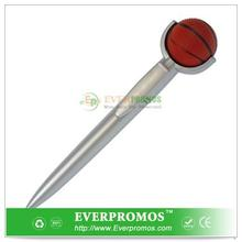Novelty Design Stress Ball Pen - Basketball For Fun
