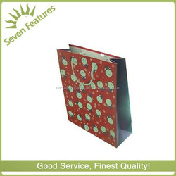 colourful paper shopping bag for cloth