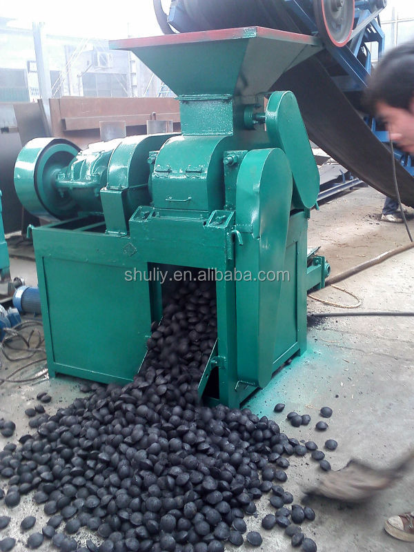 Shuliy ball charcoal pressing machine/ball coal making machine 0086-15838061253