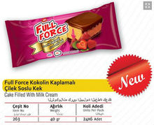 Full Force Strawberry Flavored Cake 40 gr.