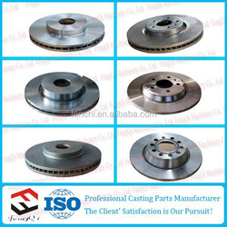 Cast iron casting for Car brake disc, Machining semi-finished products