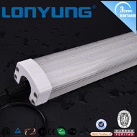 school led lighting 40w 50w 60w tri-proof led tube light 1200mm IP65