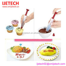 High Standard Cake Decorating Food Grade Silicone Chocolate Pen