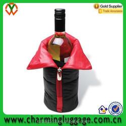plastic christmas wedding decoration wine bottle cover/ beer bottle cover bag