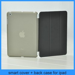 For Apple iPad New Mint Pink Magnetic Leather Tri-Fold Stand Case iPad Mini Smart Cover
