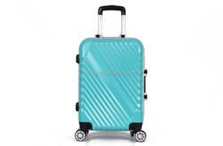 2015 new style Aluminum frame PC dull polish luggage/suitcase/travel bags