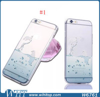 Ocean Animal Series Ultra Slim TPU Cell Phone Case for iPhone 6 New Arrival
