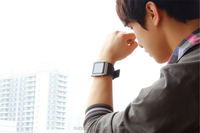 top sale waterproof Android smart hand watch mobile phone price