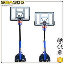 adjustable acrylic basketball hoops for sale