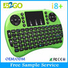 B2GO Mini Arabic i8 2.4G with Touchpad Mini Wireless Keyboard For Smart TV