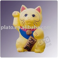 Cartoon Inflatable Maneki Neko Cat