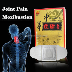 Self-heating joint muscle pain relief patch
