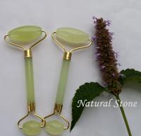 top grade jade roller DHL free shipping natural jade thin face massage tool