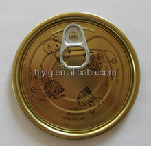 #307-83mm Food Pet Can Easy Open End Top Caps