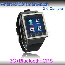 Android 4.0 dual core touch screen watch phone android wifi 3g