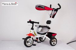 Baby big wheel tricycle, kids tricycle with handle, recumbent tricycle