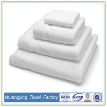 Wholesale high quality bath/hotel bamboo towel set