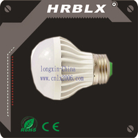 5w long lasting Acoustic optical Bulb LED sense light