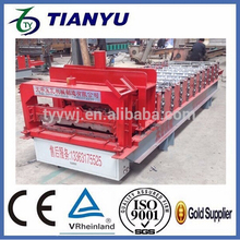 Alibaba automatic hydraulic glazed roof tile roll forming machine best price for sale