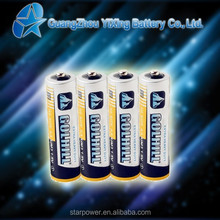 R6 size aa Carbon zinc battery is best battery