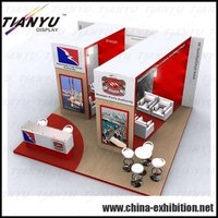 china indoor outdoor exhibition booth panel