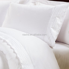 Luxury Lace Embroidery Bedding Set/bed sheet/bed sheet set