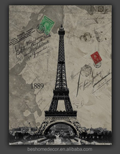 Eiffel Tower canvas oil painting
