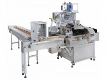 good quality high speed PLC controlling horizonal automatic mouse pack sealer