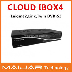 Enigma2 Linux HD receiver Digital satellite receiver HD twin tuner DVB-S2 CCAM support Openpli blackhole Cloud ibox4