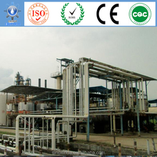 waste oil recycling with cooking vegetable oil or oil plants as materials to biodiesel process